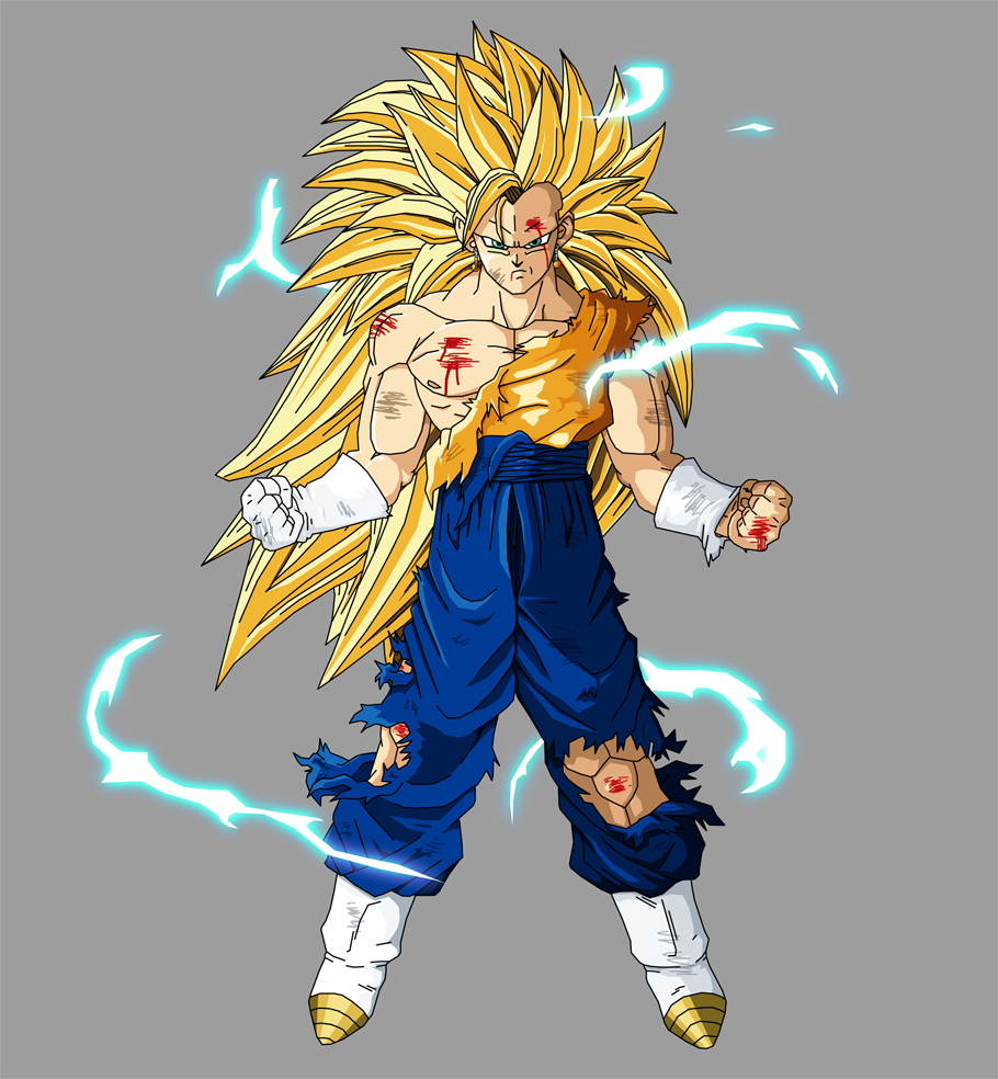 Render Vegetto SSJ 3